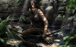 Lara Croft Art Wallpaper 530