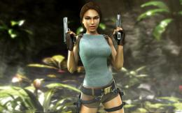 Lara Croft Tomb Raider: Anniversary, game, gun, lara croft tomb raider 421