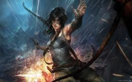 Lara Croft 2013 Art Wallpaper 1995