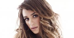 Gorgeous actress Lea Michele closeup photoshoot 878