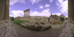 Baalbek Jupiter Temple View Wallpaper HD 1278