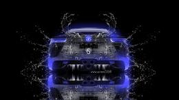Lexus LFA Water Car 2013 Dark Blue Neon HD Wallpapers design by Tony 580