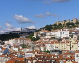 Lisbon city wallpaper 1380