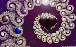 Sparkling HD Heart Best Love Wallpaper 1807