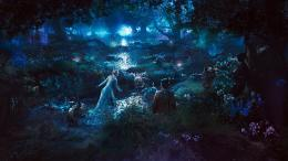 sleeping beauty, angelina jolie as maleficent, forest in maleficent 176