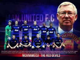 Manchester United Soccer Wallpaper with 1280x800 Resolution 1852