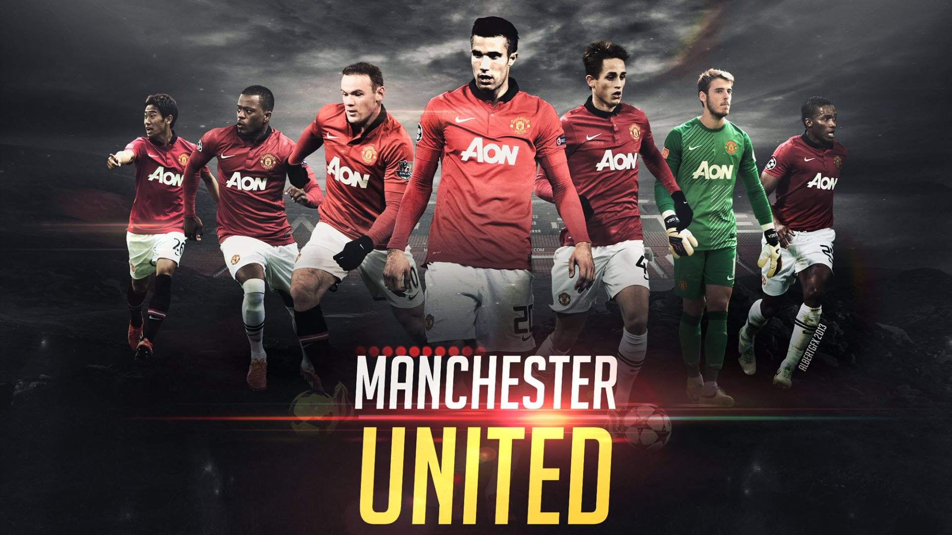 Manchester United Logo Football Club Wallpaper For PC Wallpaper with 115