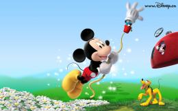 Mickey Mouse Hd Papers Wallpaper with 1680x1050 Resolution 723