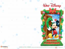 Mickey Mouse Christmas Wallpaper 809 Hd Wallpapers 726