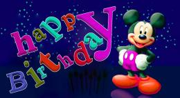 happy birthday mickey mouse HD wallpaper Wallpaper with 1352x740 288