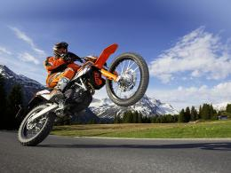 Motocross Stunt Wallpapers 1419
