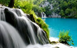 Plitvice Lakes National Park Waterfall 1124