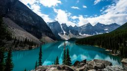 Landscapes Nature Canada Lakes Moraine Lake Fresh New Hd Wallpaper 1008