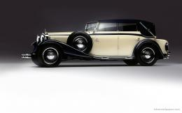 This is also Classic Car WallpaperThis car has white and black 1129