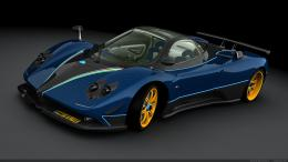 pagani zonda wallpaper 1920x1080pagani zonda dark blue wallpaper 1423 1339