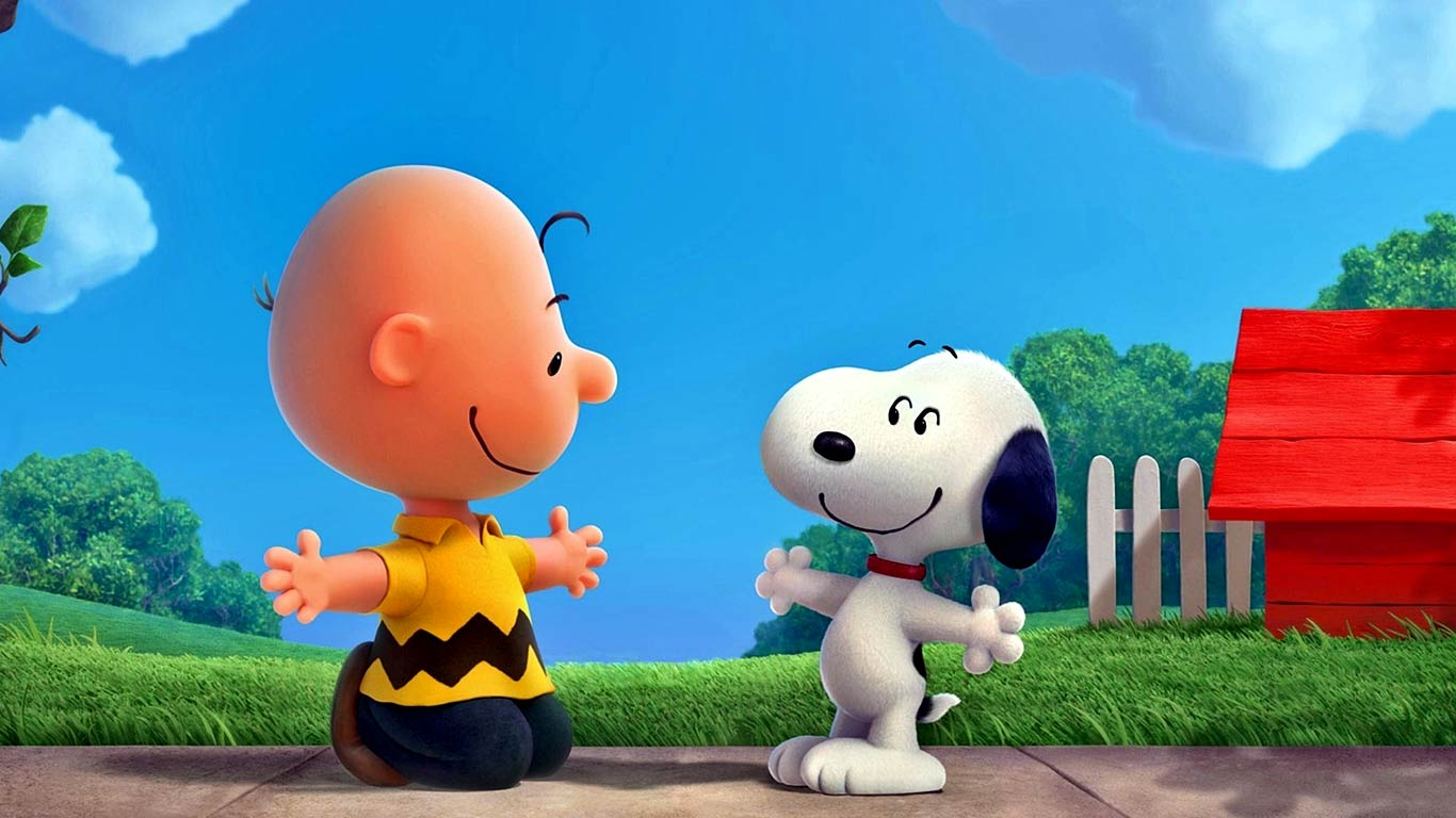 gallery for charlie brown and snoopy wallpaper