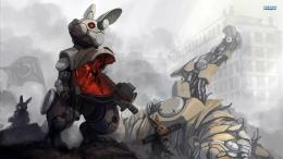 Rabbit Mech Suit HD wallpapers 1416