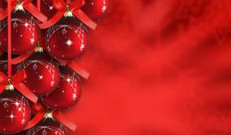 Red Christmas Tree Background Wallpapers Desktop Wallpaper 819