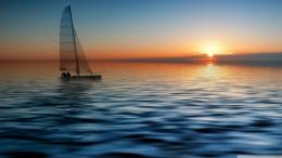 Wallpaper: boat at sea wallpaper hd wallpaper 1244