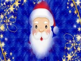 Free Merry Christmas Santa Claus HD Wallpapers for iPad 736
