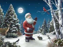 santa claus christmas hd wallpapers cool desktop background pictures 1972