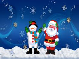 Free Merry Christmas Santa Claus HD Wallpapers for iPad 1650