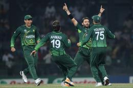 Shahid Afridi and other Pakistani Cricketer Celebrates after Take 919