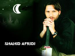 Wallpaper of Shahid Afridi Cricket World Cup 2011 534