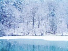 ice cold winter frozen lake desktop wallpaper cold pc cool snow white 1870