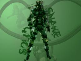 Solid Snake Metal Gear Solid 4 Wallpaper Green 1793