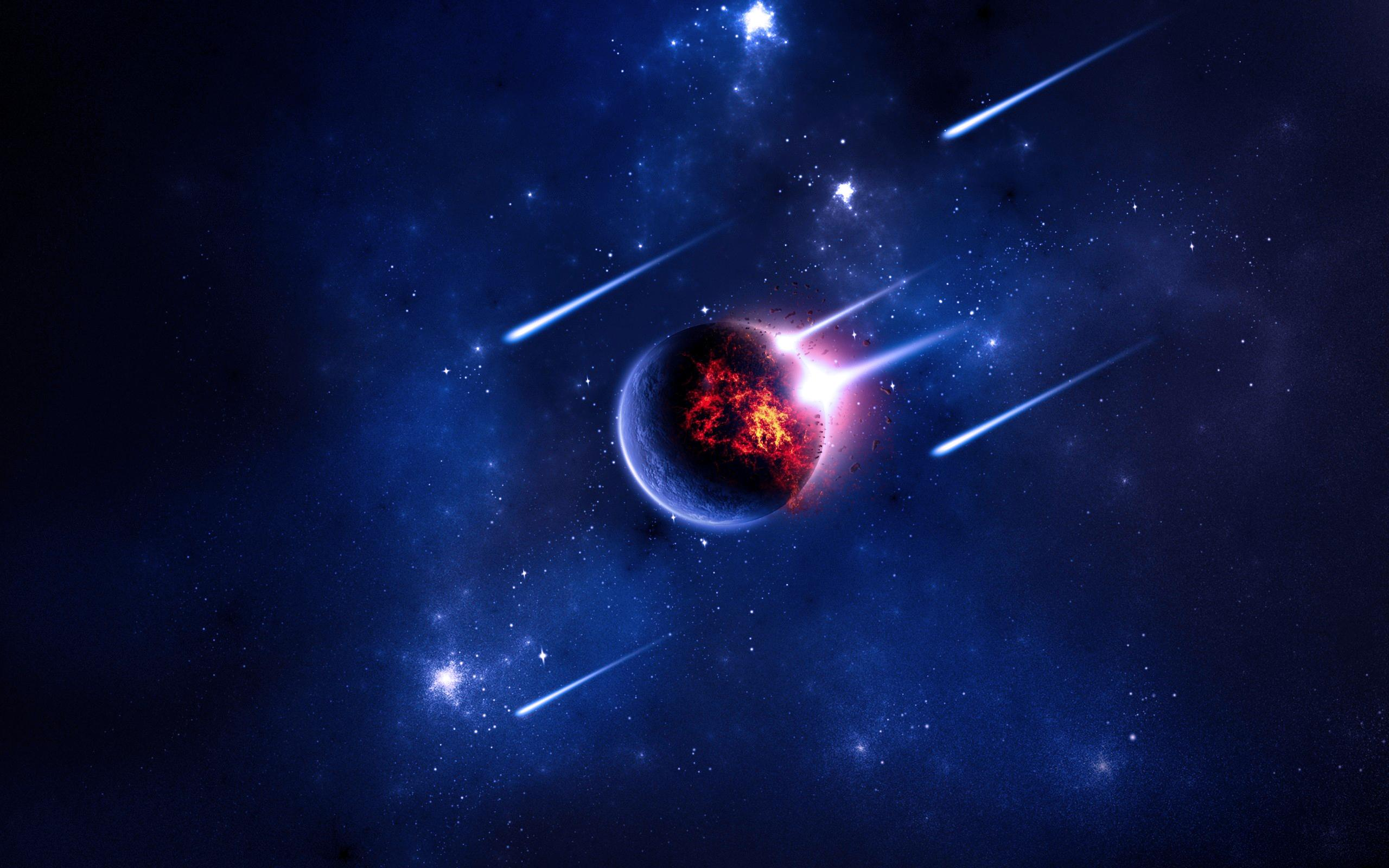 cool comets meteors and asteroids wallpaper - photo #6