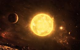 Planets Around The Sun, computer desktop wallpapers, pictures, images 723