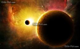 Download wallpaper space, planet, galaxy, sun free desktop wallpaper 1418