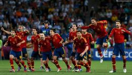 Spain National Football Team Final Celebration Euro 2012 Hd Desktop 1313