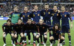 Spain Football Team Squad Wallpaper HD 1344