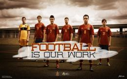 Spain Football Team 20 HD Screensavers Wallpaper 164