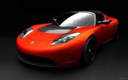 Tesla Roadster Sports Car 1445