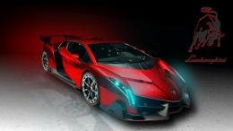 Lamborghini Veneno Sports Car Background HD 1843