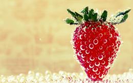 strawberry ice wallpapers free strawberry wallpapers for desktop green 112