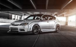 download subaru impreza sti parking car wallpaper tags subaru impreza 1833