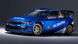 Subaru Impreza WRX STI Rally Car Wallpaper 1837