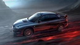 Subaru Impreza Digital Art HD Wallpaper 1538
