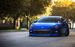 Blue Subaru BRZ HD Wallpapers 961