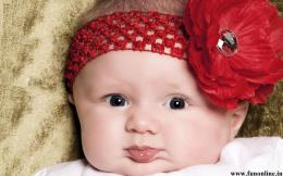 of sweet baby wallpapers sweet baby with strawberry lips wallpaper 1325