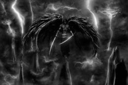 pic Awesome Dark Angel And Swords Wallpaper Image Picture Desktop 770