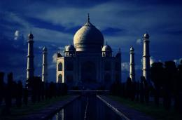 taj mahal night hd wallpapers 1858