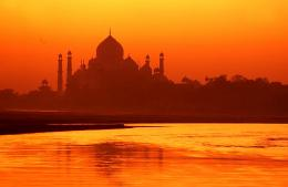 taj mahal wallpaper in early morning 211
