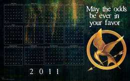 "The Hunger Games ""The Hunger Games\"" 2011 Calendar Wallpaper 1106"
