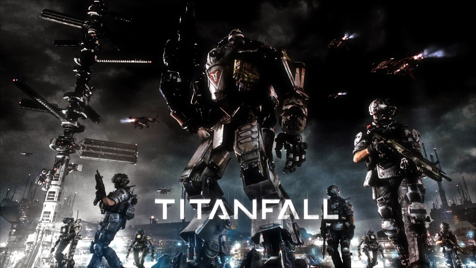 Titanfall Games ScreenShot Wallpaper HD Wallpaper with 1600x900 1107