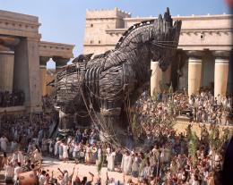 Trojan Horse in Troy Movie 1373